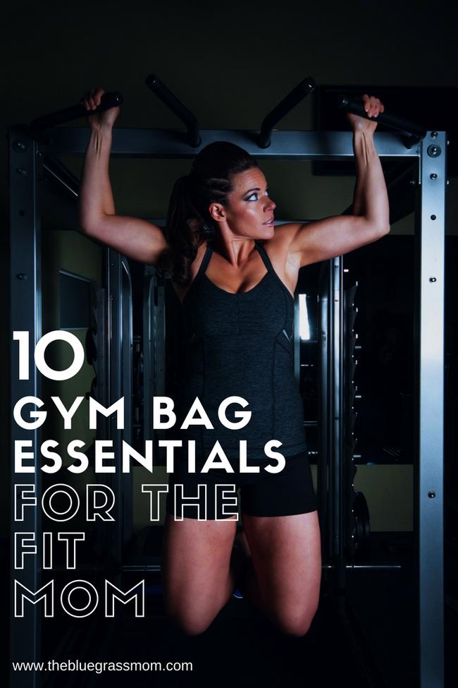 10 Gym Bag Essentials for the Fit Mom