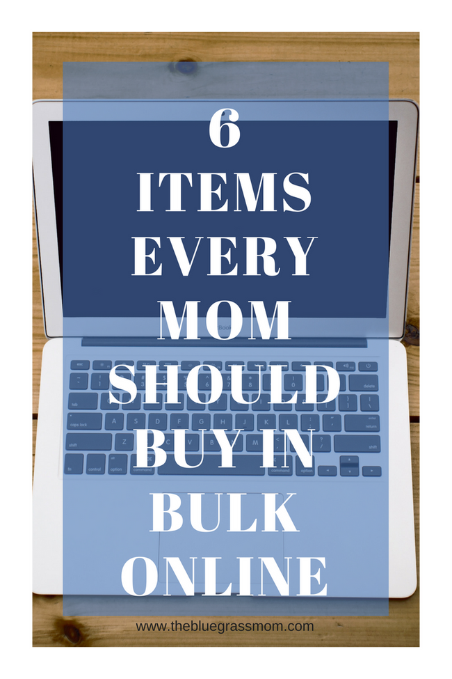 6 Items Every Mom Should Buy in Bulk Online