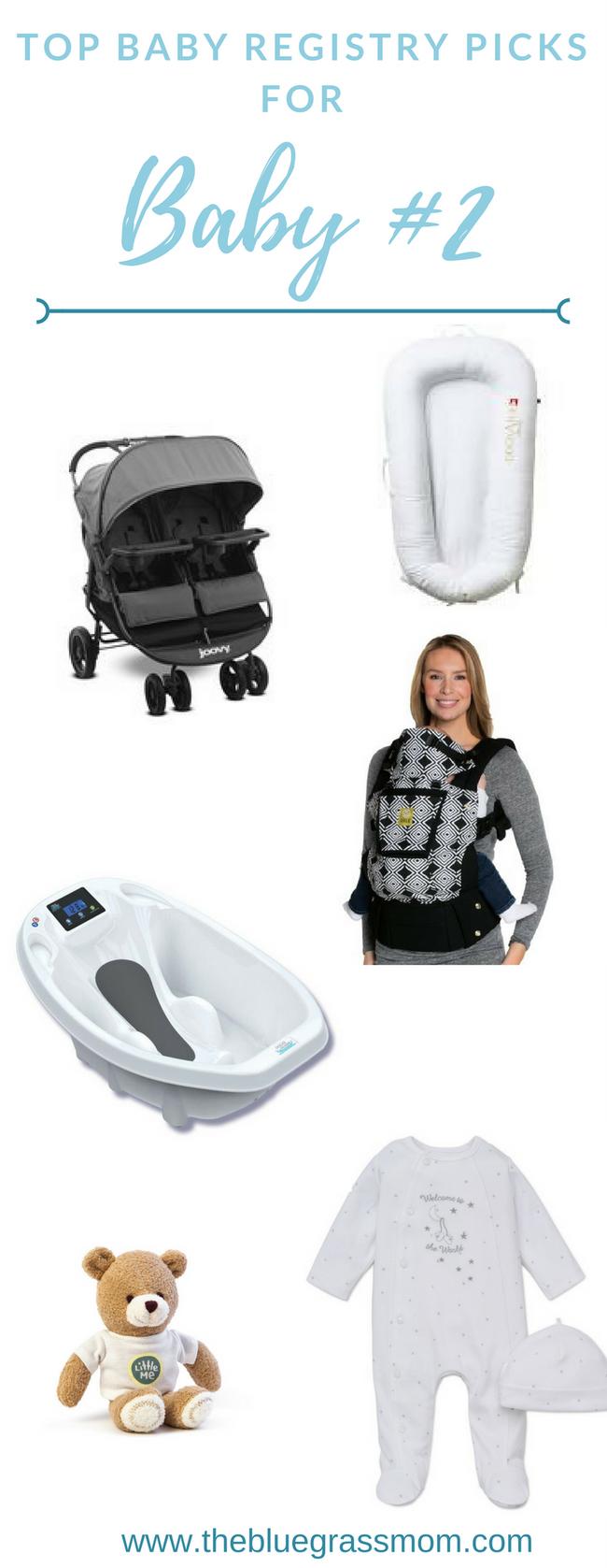 Top Baby Registry picks for Baby #2