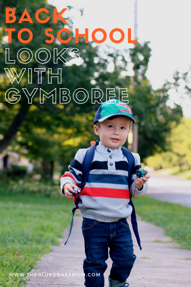 Back to School Looks with Gymboree
