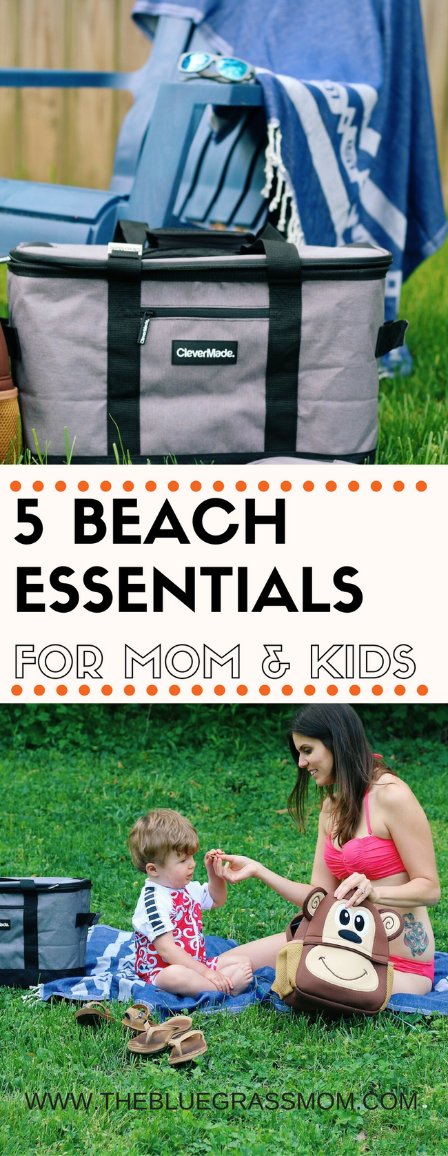 5 Beach Essentials For Mommy & Kids