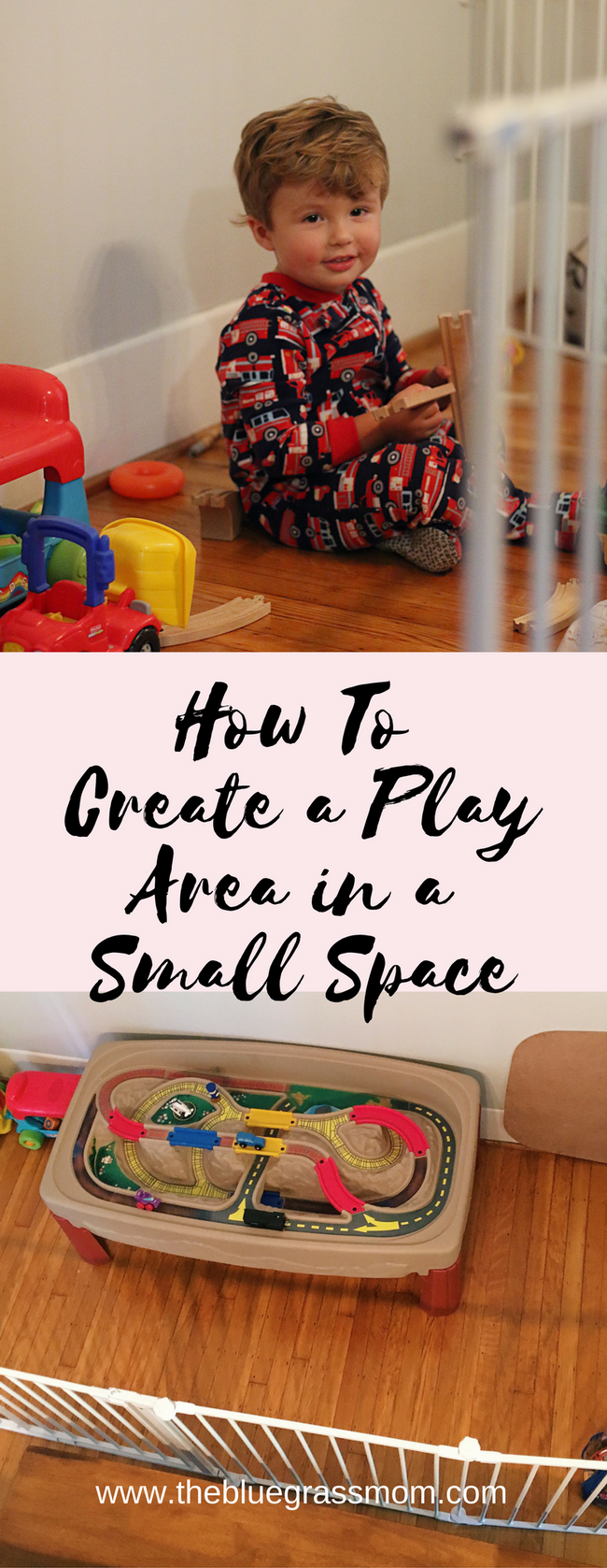 How to Create a Designated Play Area in a Tiny Space.