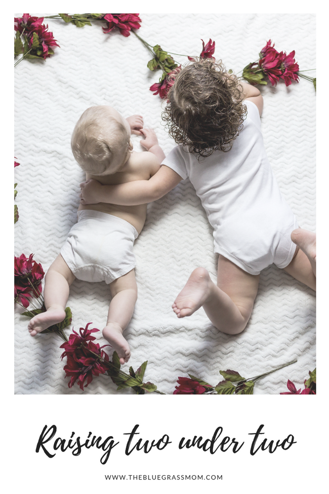 Raising Two Under Two
