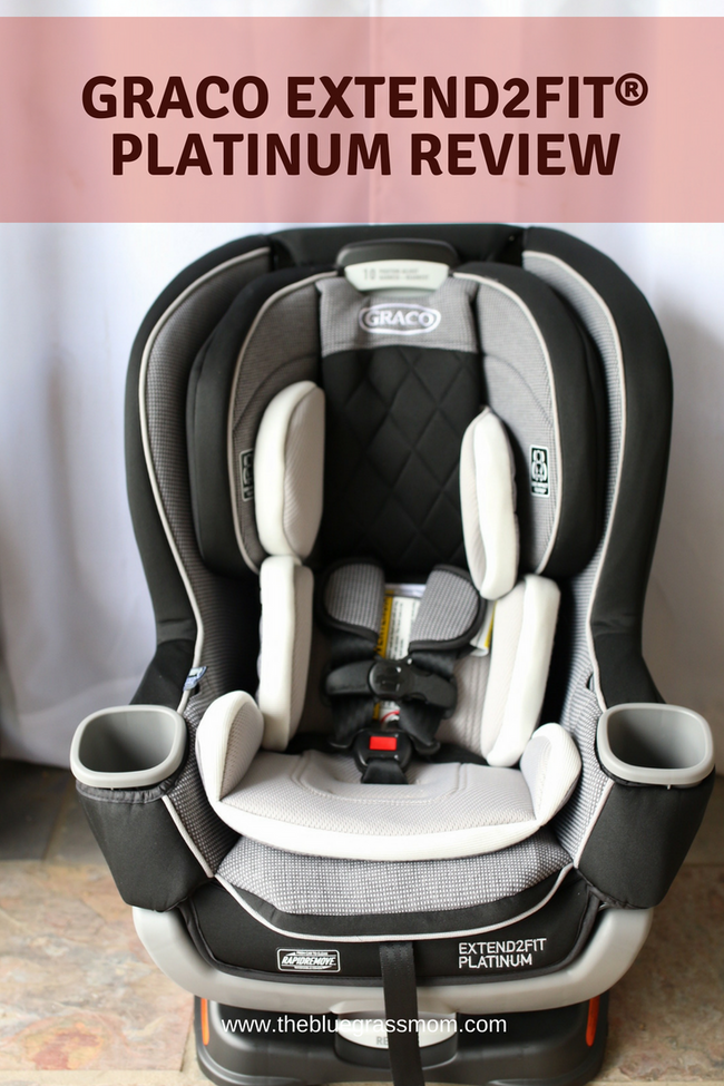 An Honest Review of the Graco Extend2Fit Platinum Convertible Car Seat
