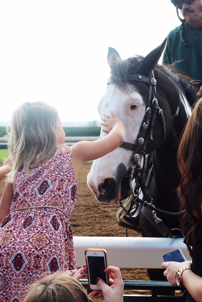 Kids and Keeneland