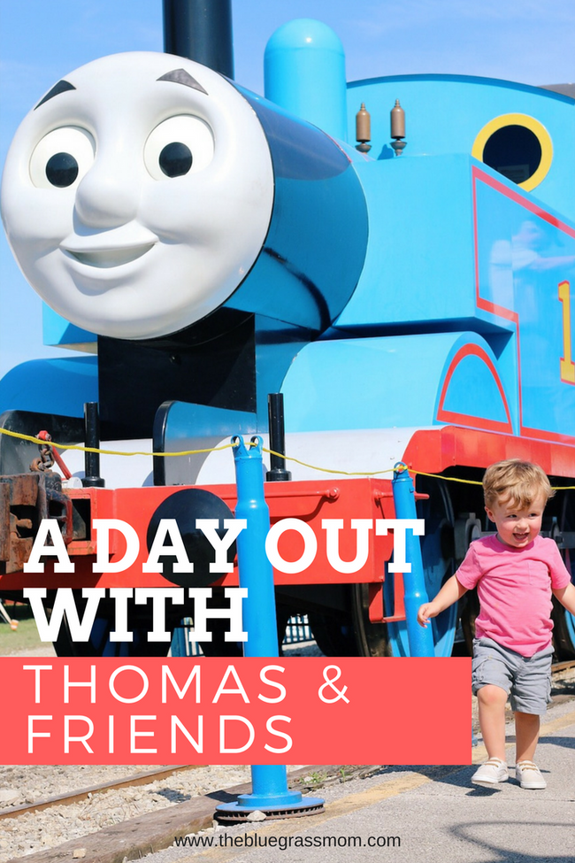 A Day Out with Thomas at The Kentucky Railway Museum