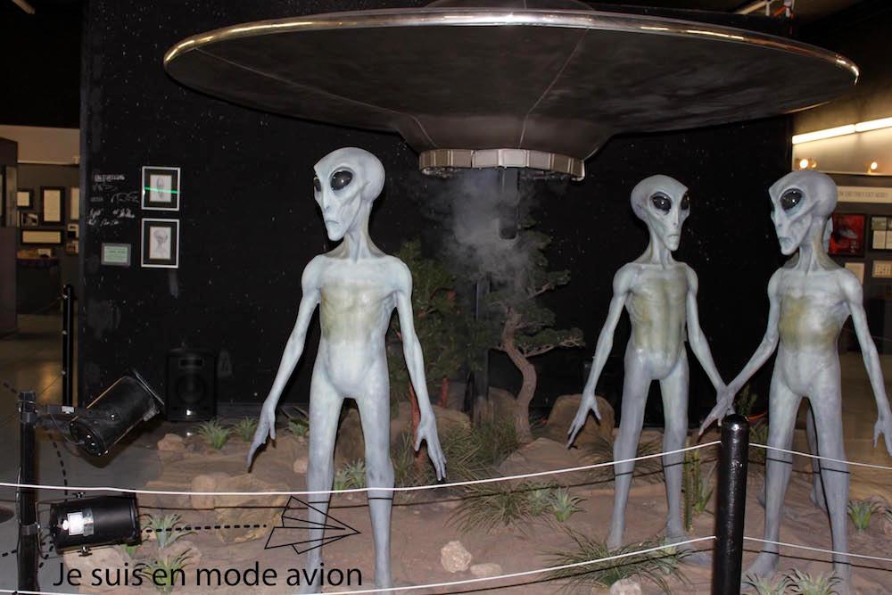 Les aliens du UFO Museum