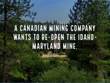 3 minute slide show - introduction to the issues of the mine