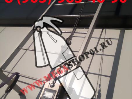Испытание пожарной лестницы компанией MEGASHOP01.RU