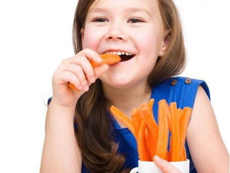 Comer cenoura faz bem para os olhos?