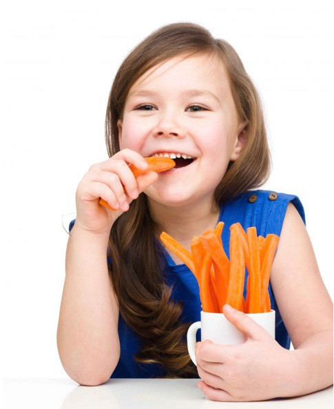 Comer cenoura faz bem para os olhos