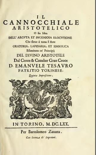 Emanuele Tesauro e a fundação barroca da Organização do Conhecimento