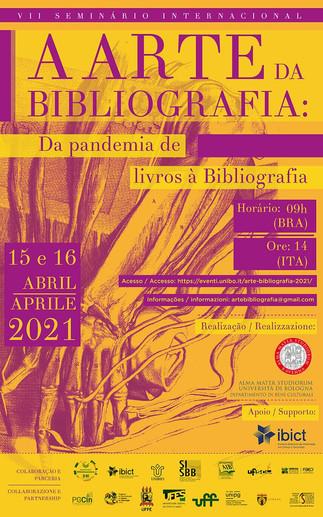 VII Seminário Internacional  Arte da Bibliografia começa hoje!