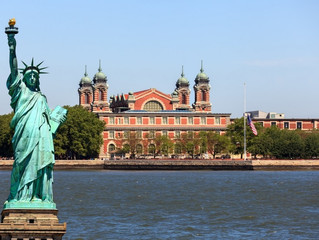 GO BACK IN TIME AND TAKE A TRIP TO ELLIS ISLAND