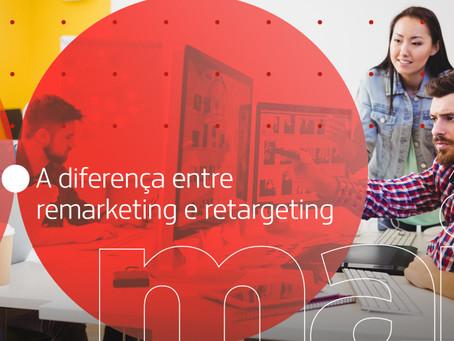 A diferença entre remarketing e retargeting