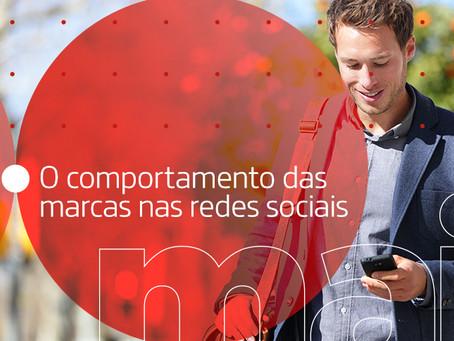 O comportamento das marcas nas redes sociais