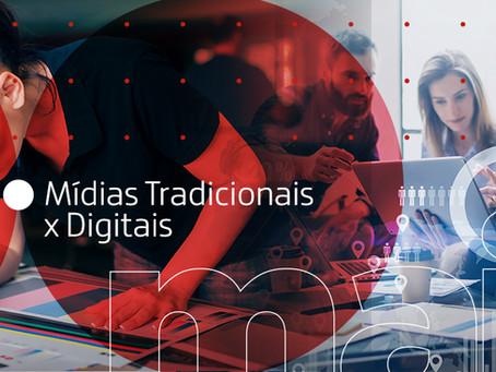 Mídias tradicionais x digitais