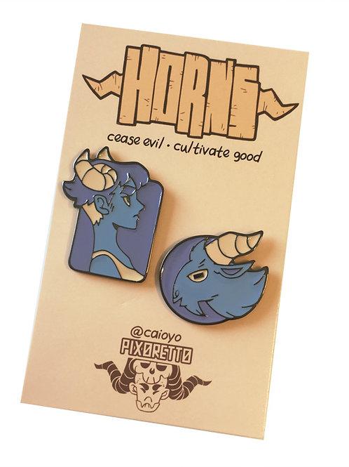 Pins - Horns (Noite)