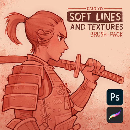 Brush Pack: Soft Lines & Textures