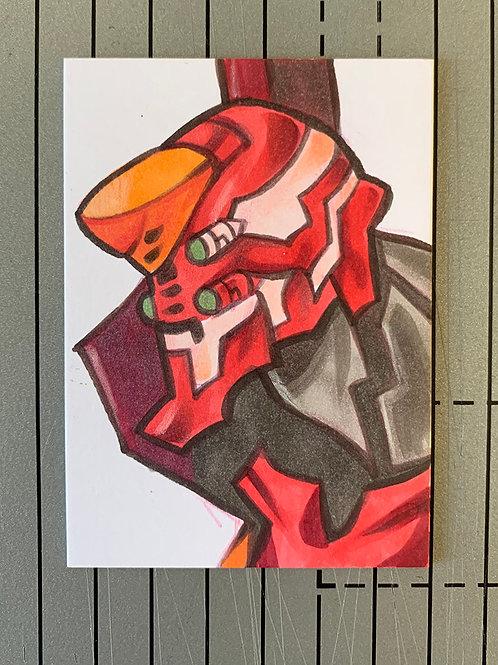 Sketchcard Original - Eva 02