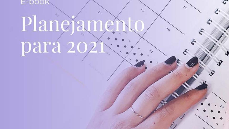 [E-book] Faça seu planejamento para 2021 com o calendário certo! Usefashion.