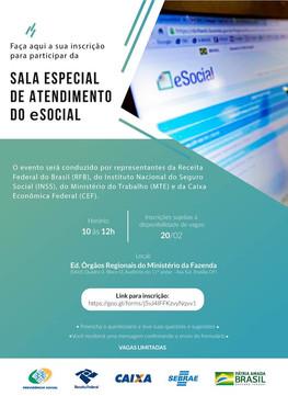 SALA DE ATENDIMENTO ESPECIAL - eSocial