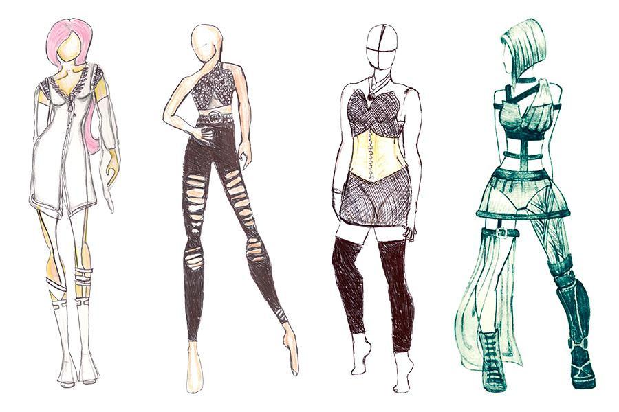 Protótipos criados por Mário