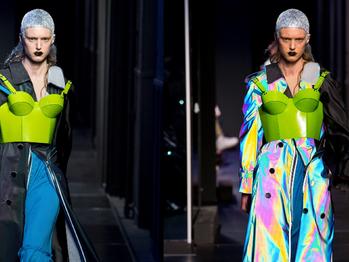 Assista ao desfile high tech que John Galliano fez para a Alta Costura da Maison Margiela