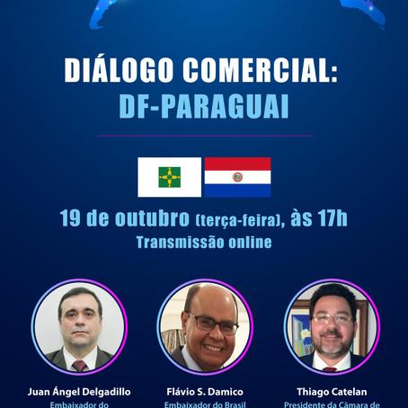 No Diálogo Comercial: DF – Paraguai