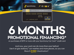 We Now Offer Financing