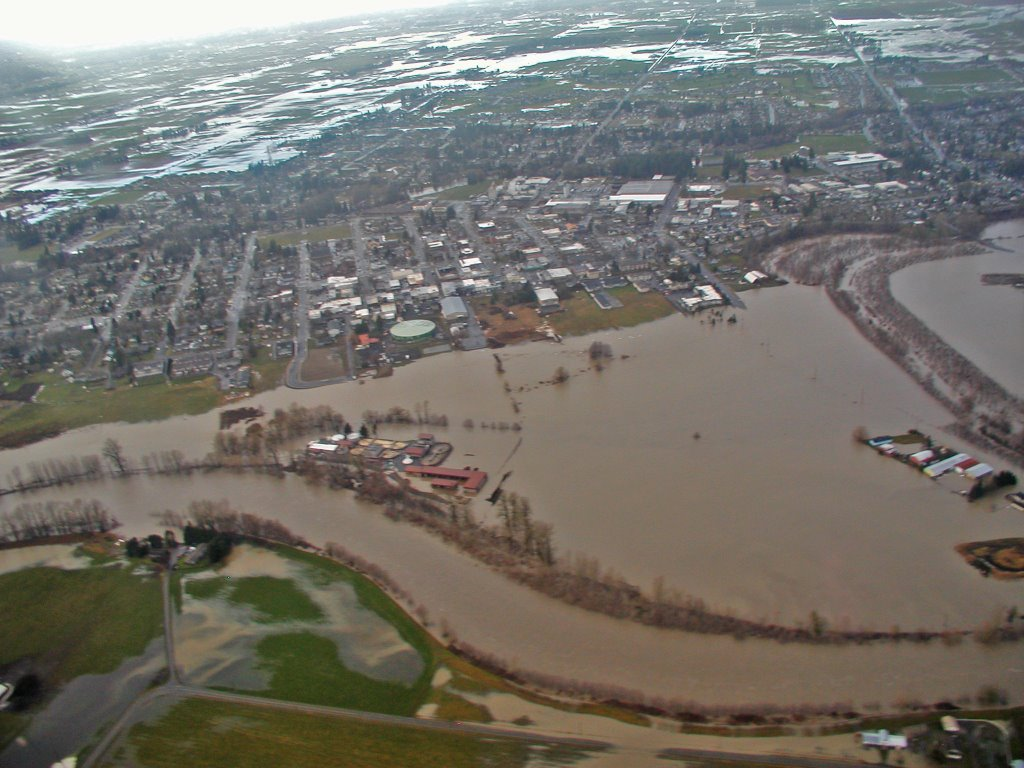 North from Lynden 2009 Flood