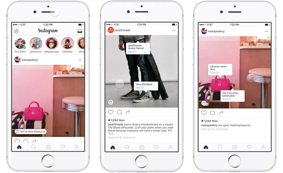 Instagram işletmeler için bir yeniliğe daha imza atıyor. Instagram alışveriş uygulaması ile işletmeler artık sadece instagram üzerinden satış yapabilecek