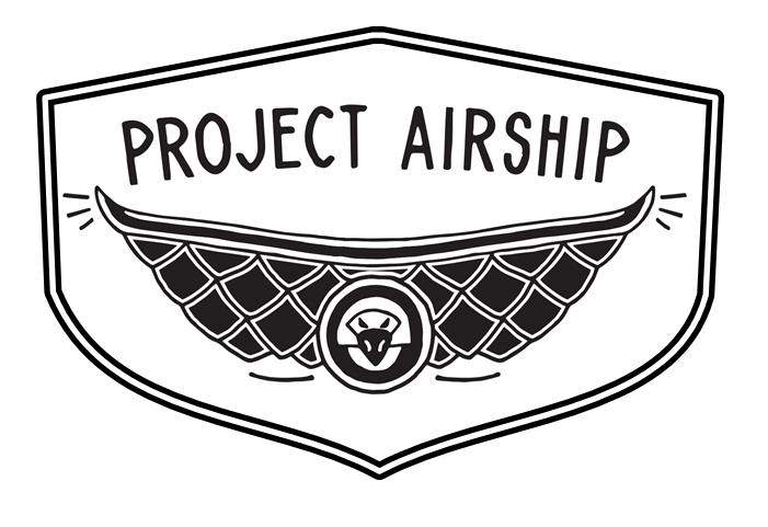 project airship shark blimp