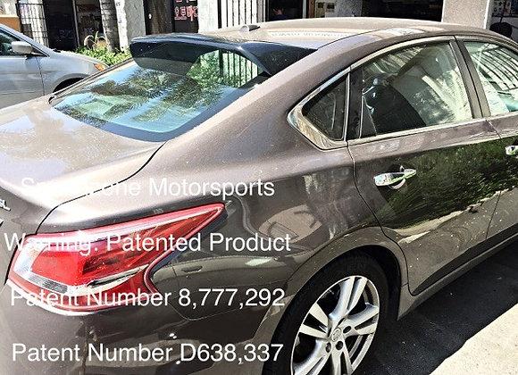 Speedzone Rear Roof Visor Nissan Altma 13 14 15 16 4dr (Square) 1st Gen