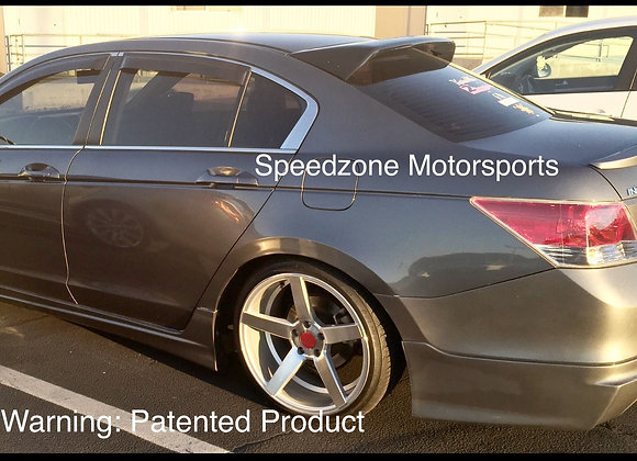 Speedzone Rear Roof Visor Accord 4dr 08 09 10 11 12 (Square)