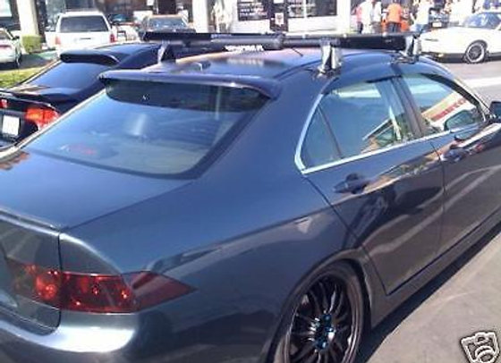 Speedzone Rear Roof Visor WIndow Spoiler Acura TSX 2004-2008