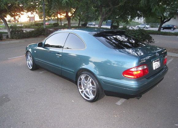 Speedzone Rear Roof Visor Mercedes Clk 98 99 00 01 02
