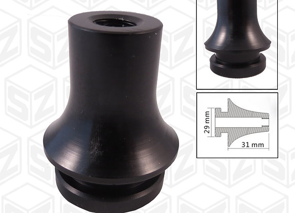 SPEEDZONE Gear Shift Knob Boot Retainer Adapter