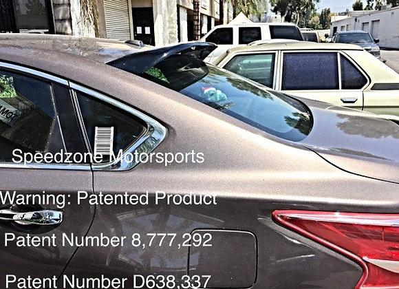 Speedzone Rear Roof Visor Nissan Altma 13 14 15 16 4dr (Round) 2nd Gen