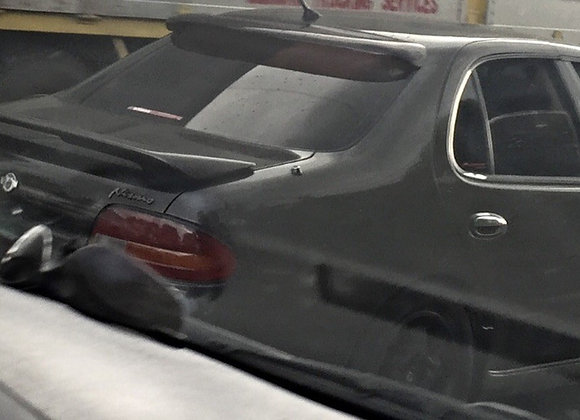 Speedzone Rear Roof Visor Nissan Altma 91 92 93 94 95 96 97 4dr