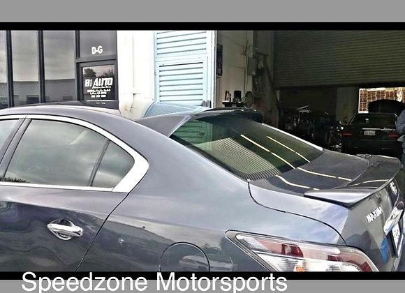 Speedzone Rear Roof Visor With Brackets JDM Maxima 4dr 09 10 11 12 13 14