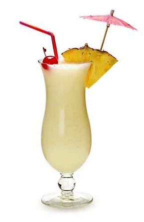 Pina Colada Frozen Cocktail Fusion