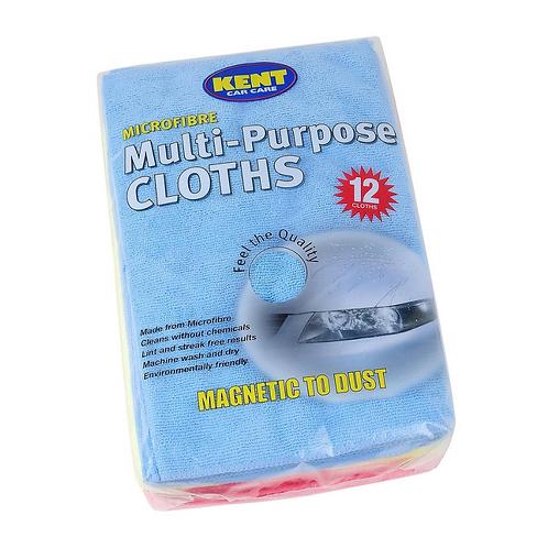 Kent 12 Supersoft Microfibre Towels x1