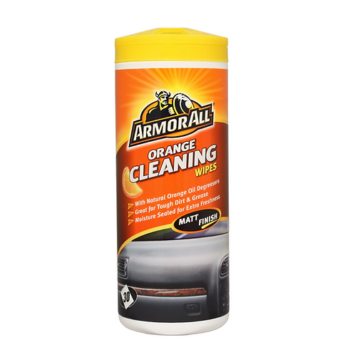 ArmorAll 30ct Orange Cleaning Wipes x6