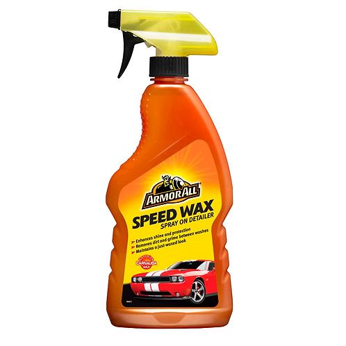 ArmorAll 500ml Speed Wax Spray x6