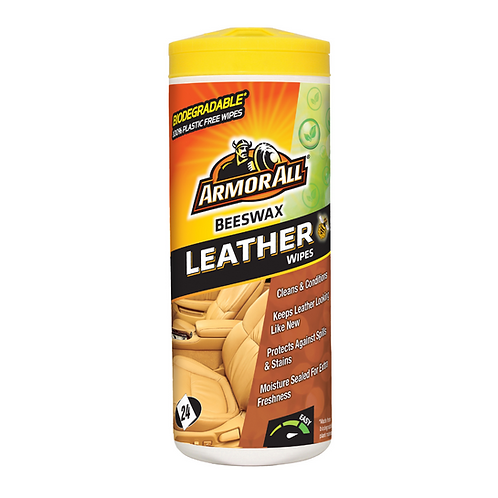 ArmorAll 24ct Leather Wipes x6