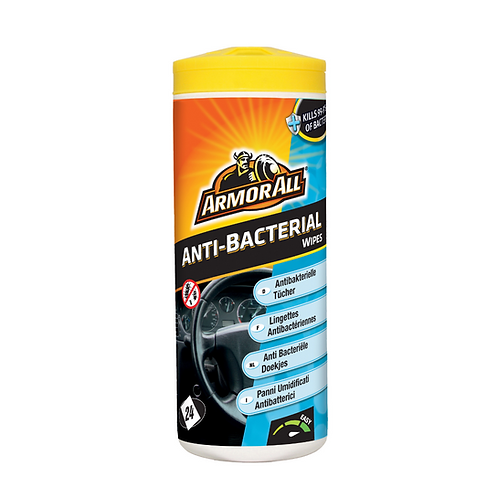 ArmorAll Anti Bacterial Wipes x6
