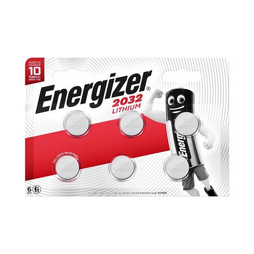 Energizer Lithium CR2032 BP6 x10