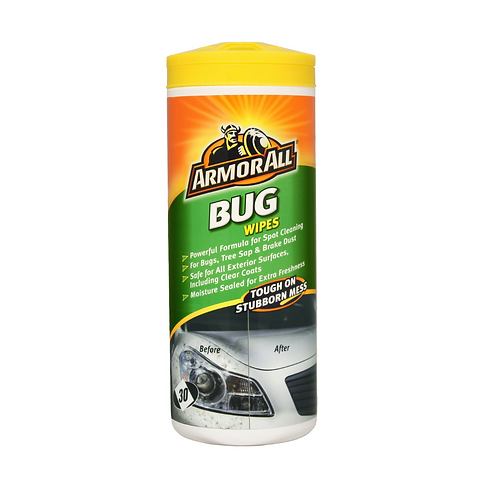 ArmorAll 30ct Bug Wipes x6