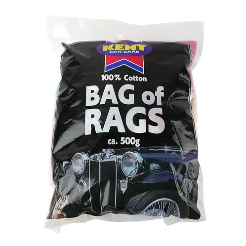 Kent 500g Bag of Rags x4